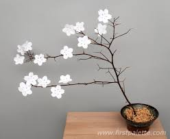 Step 11 Paper Cherry Blossoms Craft