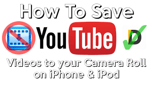 How To Save Videos to your Camera Roll on iPhone and iPod