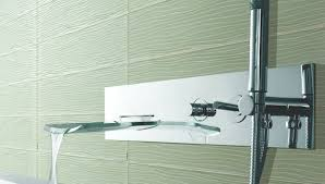 wavy glass tile backsplash emilyevanseerdmans