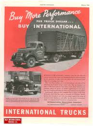 1939 International D-2 And D-40 Models | IHC Vintage Ads/posters ...