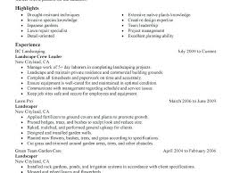 Landscape Laborer Jobs Sample Resume Ideas