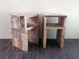 Nightstand West Elm MTC Home Design Reclaimed Wood Nightstand