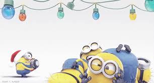 minions christmas and funny image