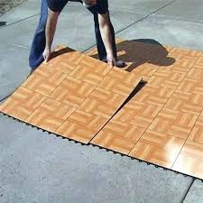 Temporary Flooring Over Carpet Tap Dance Floor Kit 9 Tiles Outdoor Floating