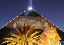 Luxor Casino Front Desk by Criss Angel Las Vegas Criss Angel Mindfreak Live Criss Angel
