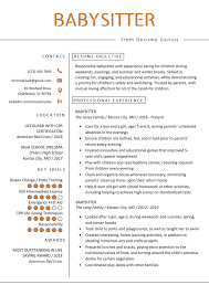 Babysitter Resume Example & Writing Guide | Resume Genius Resume Examples For Teens Fresh Luxury Rumes Best Of Highschool Students In Resume Examples Teens Teenager Service Youth Counselor Samples Velvet Jobs Good Sample Pdf New For Awesome Babysitting Floatingcityorg Experience Teen 29 Unique First Job Maotmelifecom Maotme High School Example With Summary The Proper