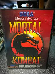 Mortal Kombat Arcade Machine Uk by Mortal Kombat Sega Master System Free Uk P U0026p Ebay