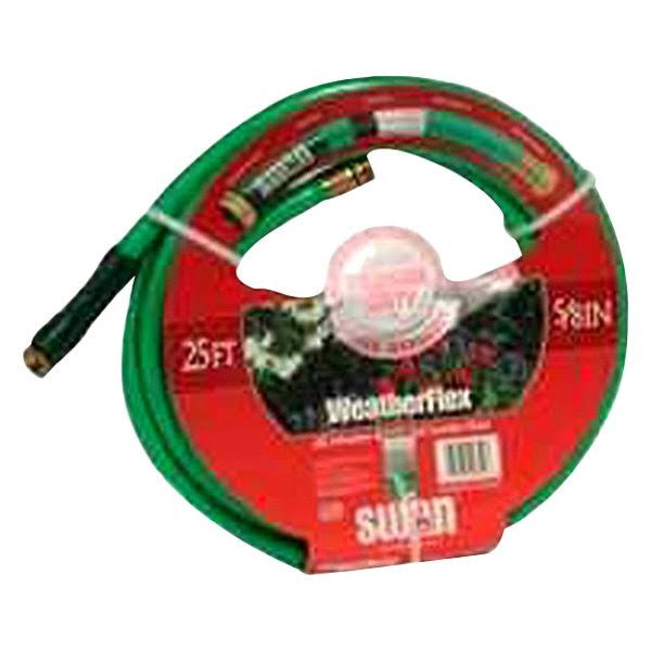 "Swan Weatherflex All-Weather Reinforced Garden Hose - 5/8"" x 25'"