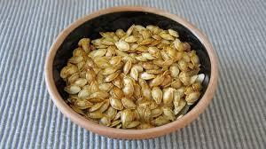 Toasting Pumpkin Seeds In Microwave by Homemade Roasted Pumpkin Seeds Recipe Bettycrocker Com