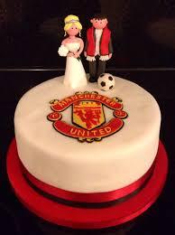 Manchester United Wedding Cake