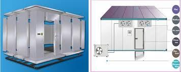chambre froide commercial stockage commercial de chambre froide de refroidissement d air par