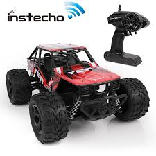 100 Monster Truck Race Us RC Cars For Kids Remote Control Cars Rock Crawel OffRoad 120
