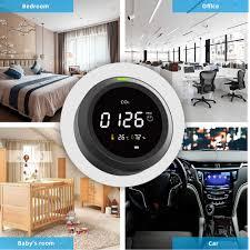 protmex co2 detektor monitor de calidad aire pantalla de temperatura y humedad pth 5