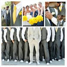 Navy Blue And Grey Wedding I Like That The Groomsmen Are Wearing Vests But