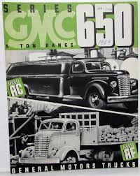 100 1939 Gmc Truck GMC Series 650 5 Ton Model AC AF Sales Brochure