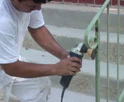 peinture fer forgé élimination de la rouille fini durable