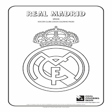 100 Real Madrid Logo Coloring Pages Statue Of Liberty Cartoon