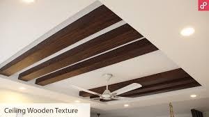 100 Wooden Ceiling POP False Rafter Design For Living Room AapkaPainter