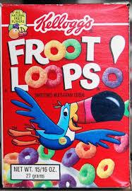 Froot Loops Box 16 Oz 1994