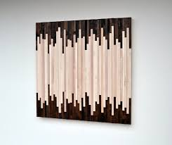 Amazing Reclaimed Wood Art Wall Industrial Decor Fire Inside Ordinary