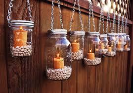 Country Wedding Ideas Mason Jar Hanging Candle Holder