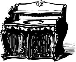 bureau clipart illustration gratuite bureau vintage meubles clipart image