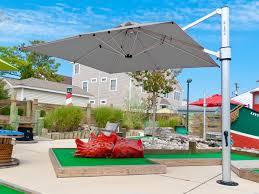 outdoor heavy duty patio umbrella huge shade umbrella offset