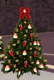Christmas Tree 76 With Twinkling Gold And Red Lights Sale 50 OFF