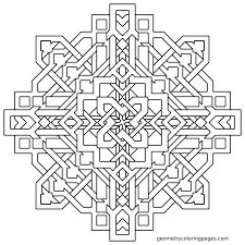 Mandala Coloring Page Frank W