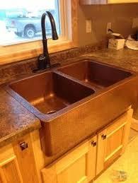 33x22 Copper Kitchen Sink by Double Bowl Copper Kitchen Sink 33x22