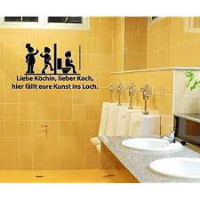 aufkleber wc deckel 25x13cm liebe köchin toiletten sticker bad spruch lustig klodeckel wandtattoo toilettendeckel badezimmer tür 3c015