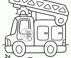 100 Coloring Pages Of Trucks Fire Truck Page Free Printable Unusual Engine
