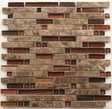 Interlocking stone mosaic tiles glass mosaic kitchen backsplash