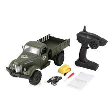 Hot Sale JJRC Q61 1:16 RC Truck Remote Control 2.4G 6WD Tracked Off ...