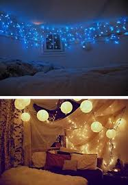 Bedroom Decorating With Christmas Lights