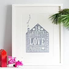 Personalised Home Print By Allihopa Notonthehighstreet Com