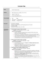Cover Letter Curriculum Vitae Hospital Pharmacist Event Planning Templatepharmacist Resume Examples Extra Medium Size