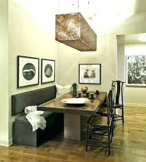 Dining Room Tables With A Bench Table Benches Corner