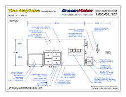 Daytona Hot Dog Cart | DreamMaker Hot Dog Carts Oceanside Pro Cart Drawings Dreammaker Hot Dog Carts 16 Foot Box Truck Dimeions Line Drawing Of Side View Food Storage Cabinets Cabinet Design Build And Operate Your Own Food Truck With Ccession Nation We Sample Floor Plans Models Summer At Seven Springs A Visit From Amigos Locos Built For Sale Tampa Bay Trucks 1992 10ft Kitchen Mobile Lunch Vending Youtube Bounty Outstanding Burgers Jfood Eats Our Dburritos Fresh Mex Ipdent Size Chart Pictures Promotional Vehicles Manufacturer