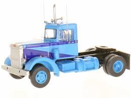 Trainworx 45025: LKW Peterbilt 280 Truck Blau. 1:160 - DM-Toys