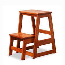 Amazon.com: Solid Wood Stairs Step Stool Children Ladder ...