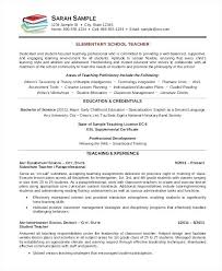 Resume Format For Teaching Profession Template Teachers Teacher Templates New Inspirational Examples Resumes