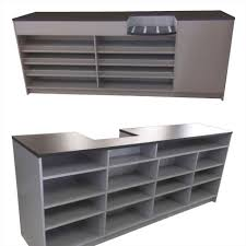 Shelves Pastry Cases Bread Racks U Store Fixtures Modern Retail Display Tables With Storage Mid Century