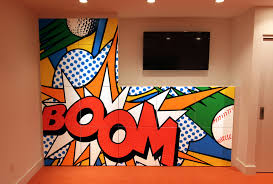 100 Pop Art Interior Mural Custom Mural Specialists