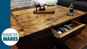 Build Large Coffee Table by Coffee Table Diy Coffeele Plan Instruction Pallet Plans On