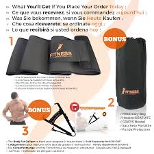 si e pour waist trimmer belt by fitness active pro fitness active pro