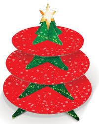 Christmas Tree Amazon Uk by 3 Tier Christmas Tree Mince Pie And Cupcake Stand Amazon Co Uk