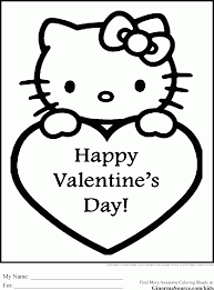 Valentines Day Coloring Pages Free Printable 3