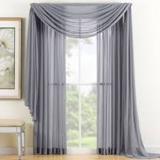 Gray Sheer Curtains Bed Bath And Beyond by Buy Grey Sheer Curtains From Bed Bath U0026 Beyond