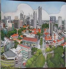 Fantastic Cities Pg20 Singapore Stevemcdonald Fantasticcities SingaporeColoring BooksCitiesVintage